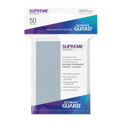 Ultimate Guard Supreme UX Sleeves Standard Size...