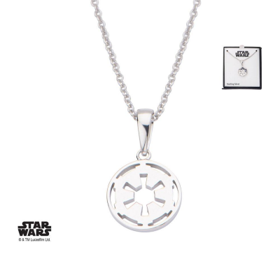 Star Wars Necklace Galactic Empire Symbol 46 cm (Sterling...