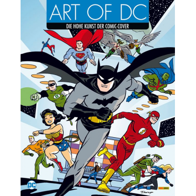 Art of DC - Die hohe Kunst der Comic-Cover
