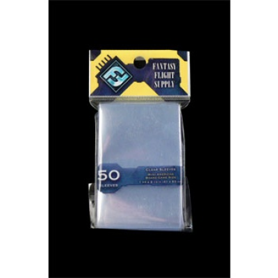 FFG Supply Clear Sleeves - Mini American Board Game (50...