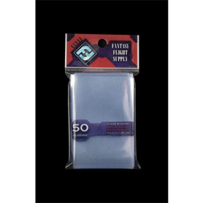 FFG Supply Clear Sleeves - Mini European Board Game (50...