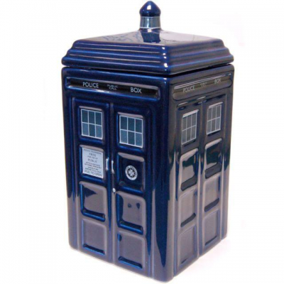 Doctor Who Cookie Jar Tardis