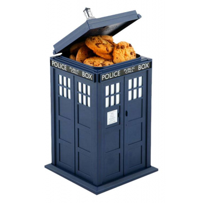 Doctor Who Cookie Jar with Sound & Light Up Tardis