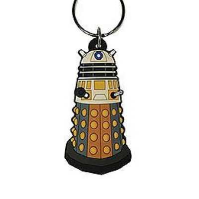 Doctor Who Rubber Keychain Dalek 6 cm
