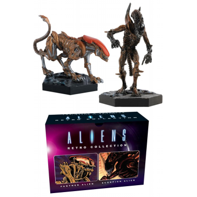 Aliens Retro Collection Figure 2-Pack Panther & Scorpion...