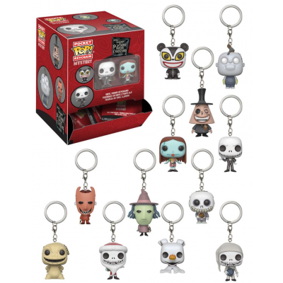 Nightmare Before Christmas Pocket POP! Vinyl Keychain 5 cm