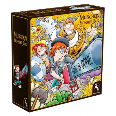 Munchkin Monsterbox Cover 1 (Huang)