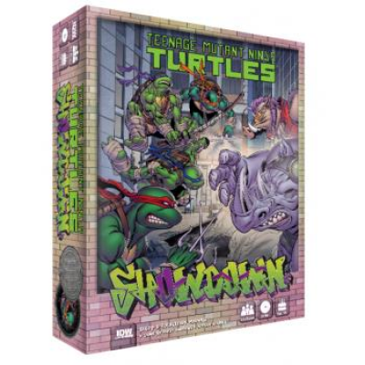 TMNT: Showdown - Bebop & Rocksteady Madness, Englisch