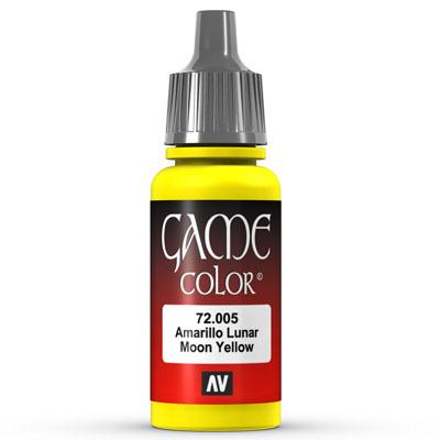 Vallejo Game Color: 005 Moon Yellow, 17 ml
