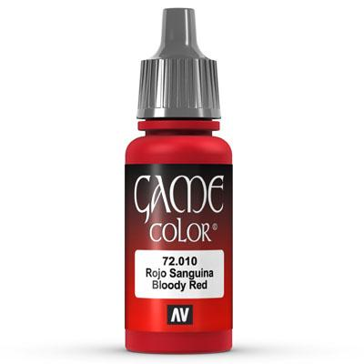 Vallejo Game Color: 010 Bloody Red, 17 ml