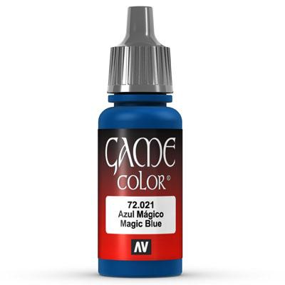 Vallejo Game Color: 021 Magic Blue, 17 ml