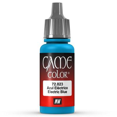 Vallejo Game Color: 023 Electric Blue, 17 ml