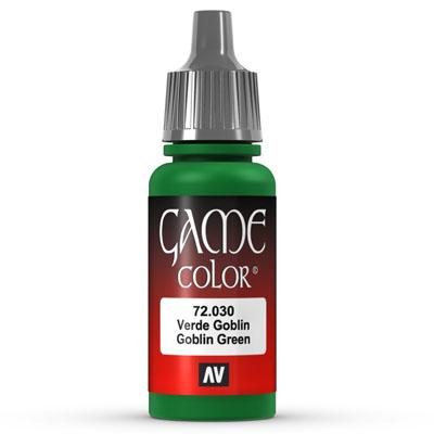 Vallejo Game Color: 030 Goblin Green, 17 ml