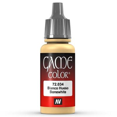Vallejo Game Color: 034 Bonewhite, 17 ml