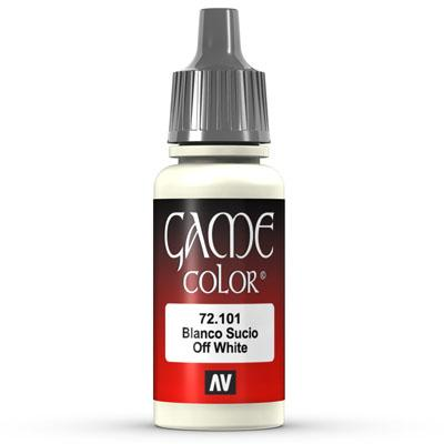Vallejo Game Color: 101 Off White, 17 ml