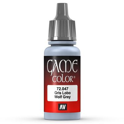 Vallejo Game Color: 047 Wolf Grey, 17 ml