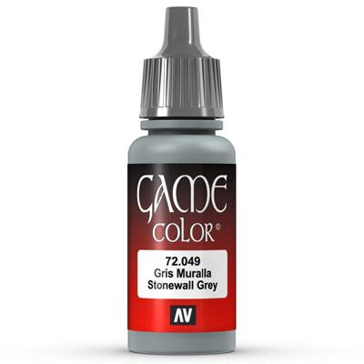 Vallejo Game Color: 049 Stonewall Grey, 17 ml