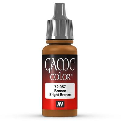 Vallejo Game Color: 057 Bright Bronze, 17 ml