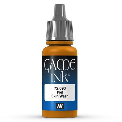 Vallejo Game Color Ink: 093 Ink Skin Wash, 17 ml