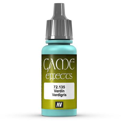 Vallejo Game Color: 135 Effect Verdegris 17 ml