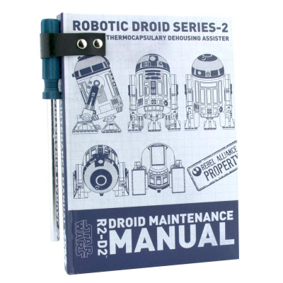 Star Wars A5 Notebook with Pen R2D2 Droid Maintenance Manual