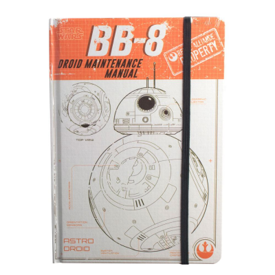 Star Wars Rogue One A5 Notebook BB-8 Droid Maintenance...