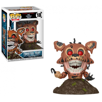 Five Nights at Freddys The Twisted Ones POP! Books Vinyl...