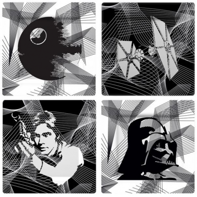 Star Wars Plates 4-Pack Intergalactic
