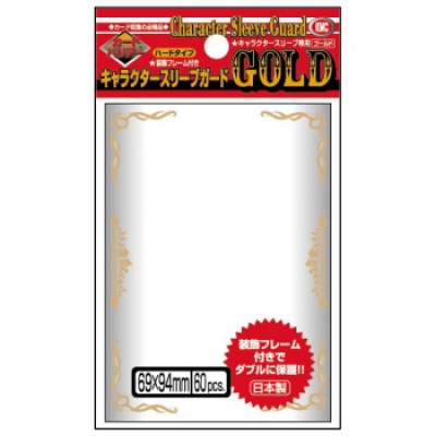 KMC Standard Sleeves - Character Guard Gold - 60...