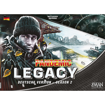 Pandemic Legacy - Season 2 Schwarz, German