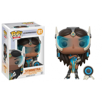 Overwatch POP! Games Vinyl Figur Symmetra 9 cm