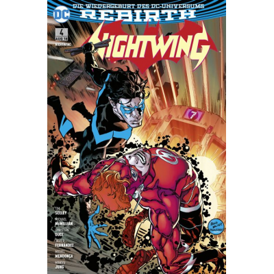 Nightwing (Rebirth) 4: Blockbuster