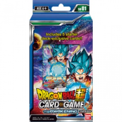 Dragon Ball Super Card Game - The Awakening Starter Deck,...