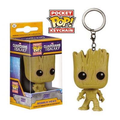 Guardians of the Galaxy Pocket POP! Vinyl Keychain Groot...