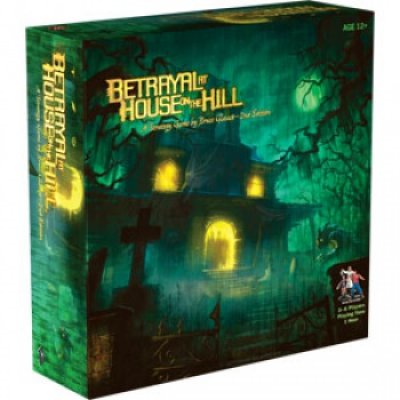 Betrayal at House on the Hill: 2nd Edition, English