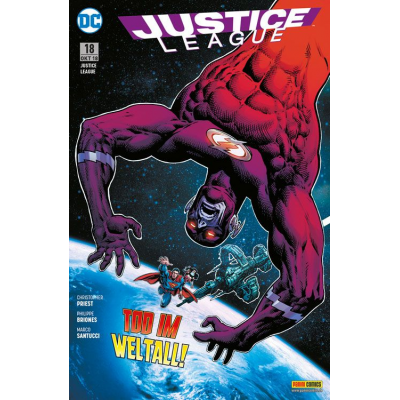 Justice League (Rebirth) 18