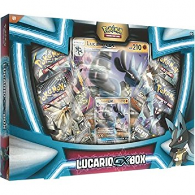PKM - Lucario-GX Box. German