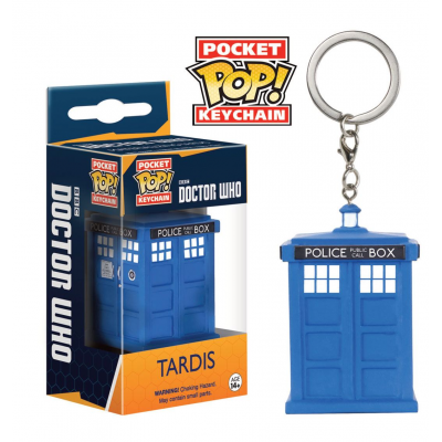 Doctor Who Pocket POP! Vinyl Keychain Tardis 4 cm