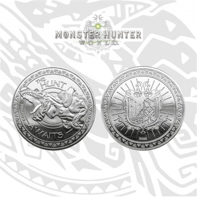 Monster Hunter Collectable Coin The Hunt Awaits (silver...