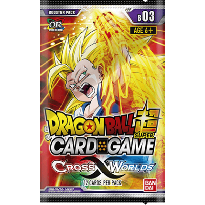 Dragon Ball Super Card Game - Cross Worlds Booster Pack,...