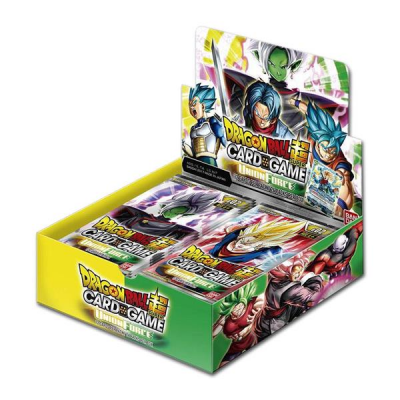Dragon Ball Super Card Game - Union Force Booster Display (24 Packs), English