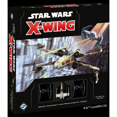 Star Wars X-Wing 2. Edition: Core Set, German