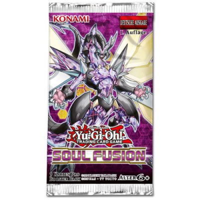 YGO - Soul Fusion - Booster Pack, German