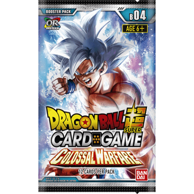 Dragon Ball Super Card Game - Colossal Warfare Booster...
