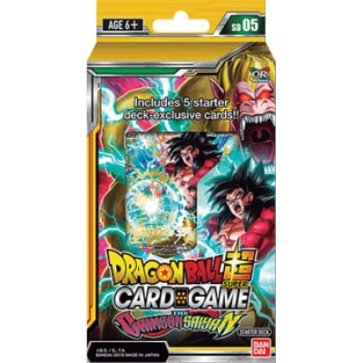 Dragon Ball Super Card Game - The Crimson Saiyan Starter...