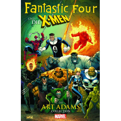 Fantastic Four & die X-Men Collection von Art Adams