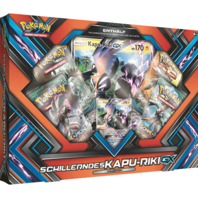 PKM Shiny Kapu-Riki-GX Box, German