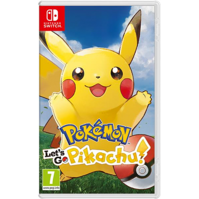 Nintendo Switch Pokémon: Lets Go, Pikachu!