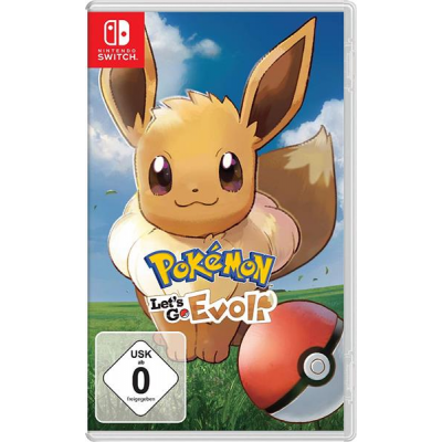 Nintendo Switch Pokémon: Lets Go, Evoli!