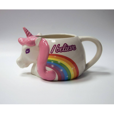 Unicorn 3D Mug I Believe